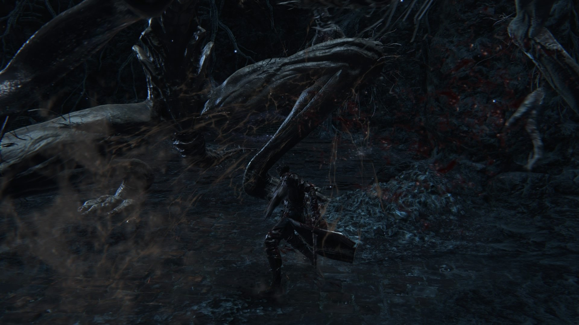 Blood, Amygdala's Leg, After Break, Isz