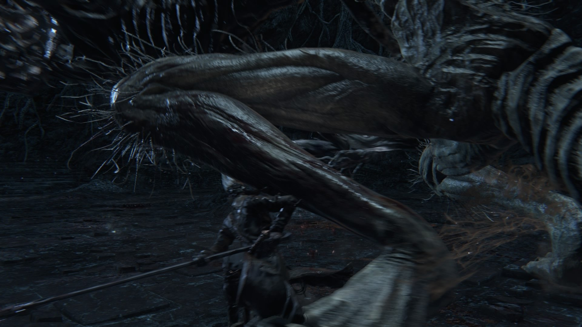 Blood, Amygdala's Leg, Isz