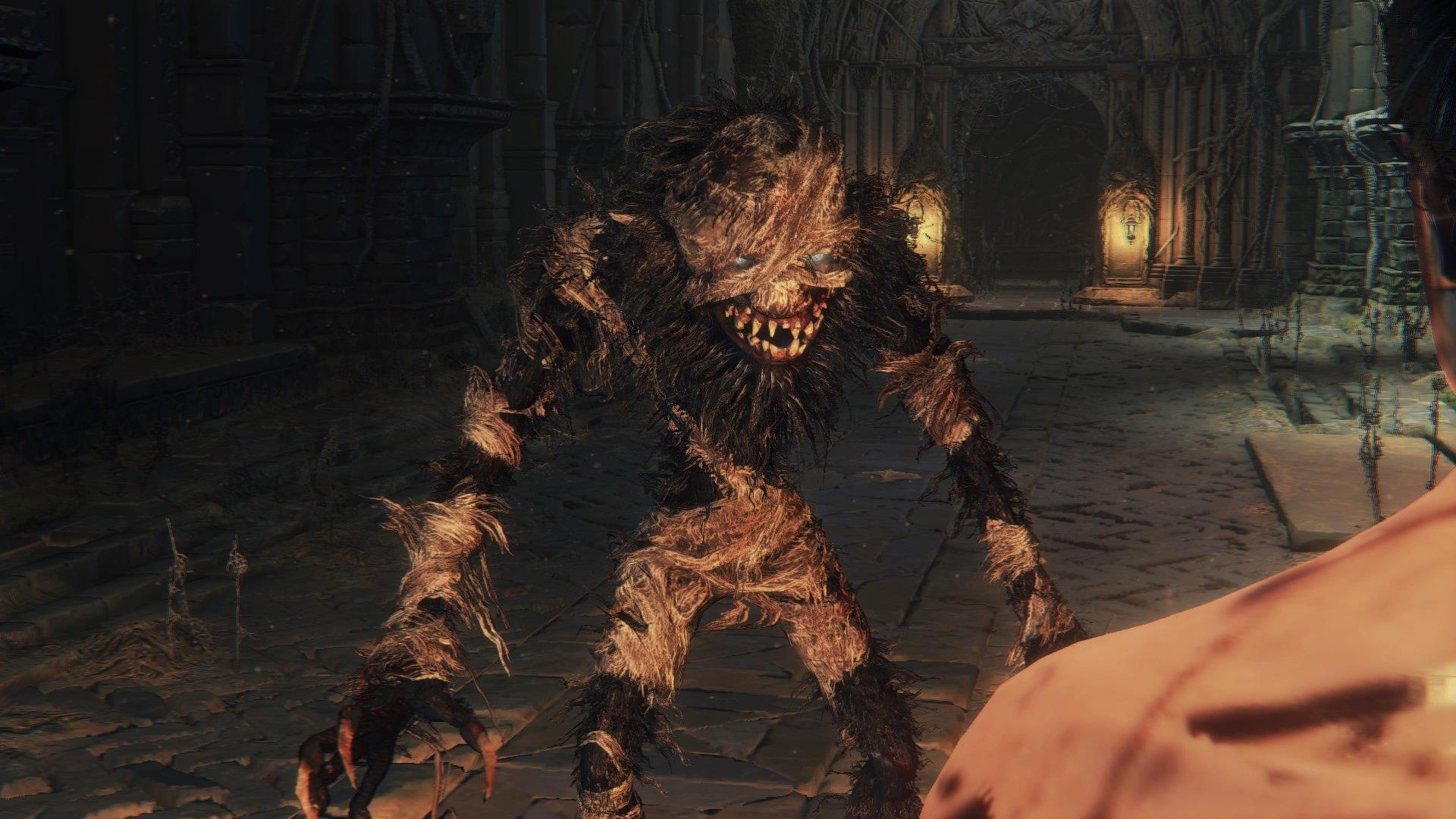 old yharnam beast
