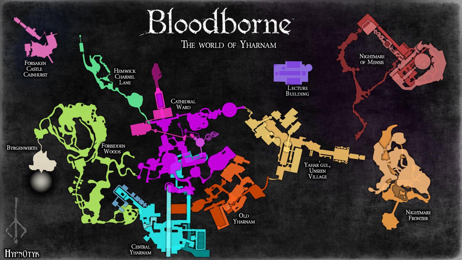 Overall world maps bloodborne wiki bloodborne wallpapersmallg ccuart Choice Image