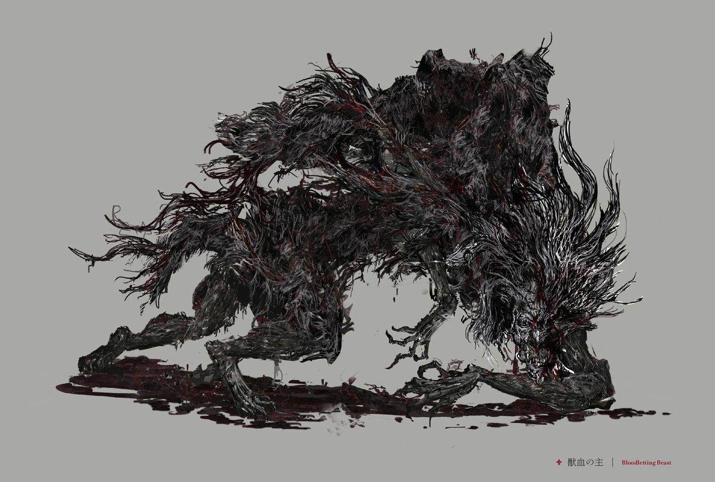 bloodletting beast bloodborne wiki. Black Bedroom Furniture Sets. Home Design Ideas