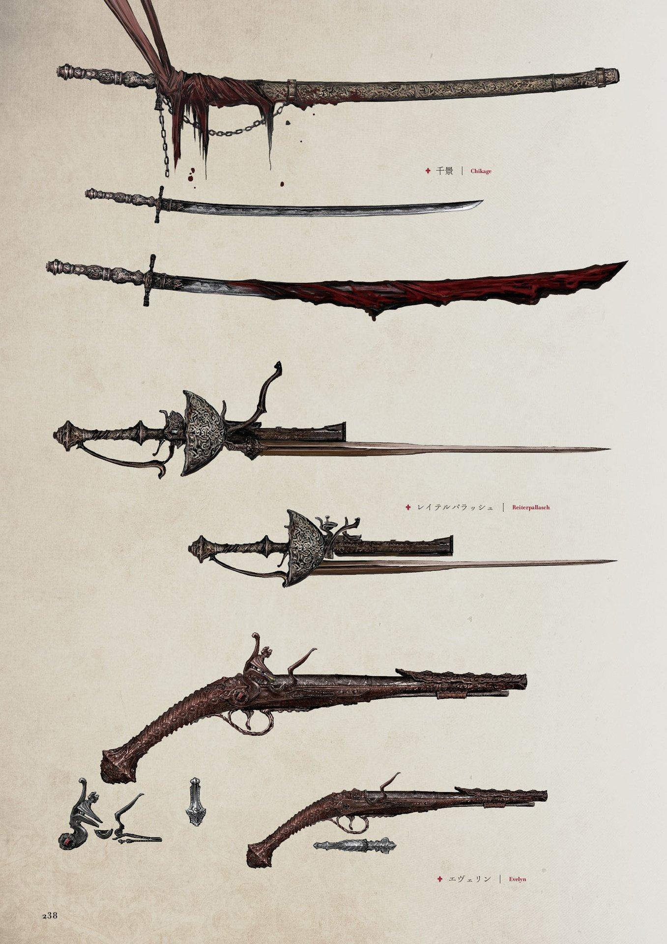 Reiterpallasch Bloodborne Wiki