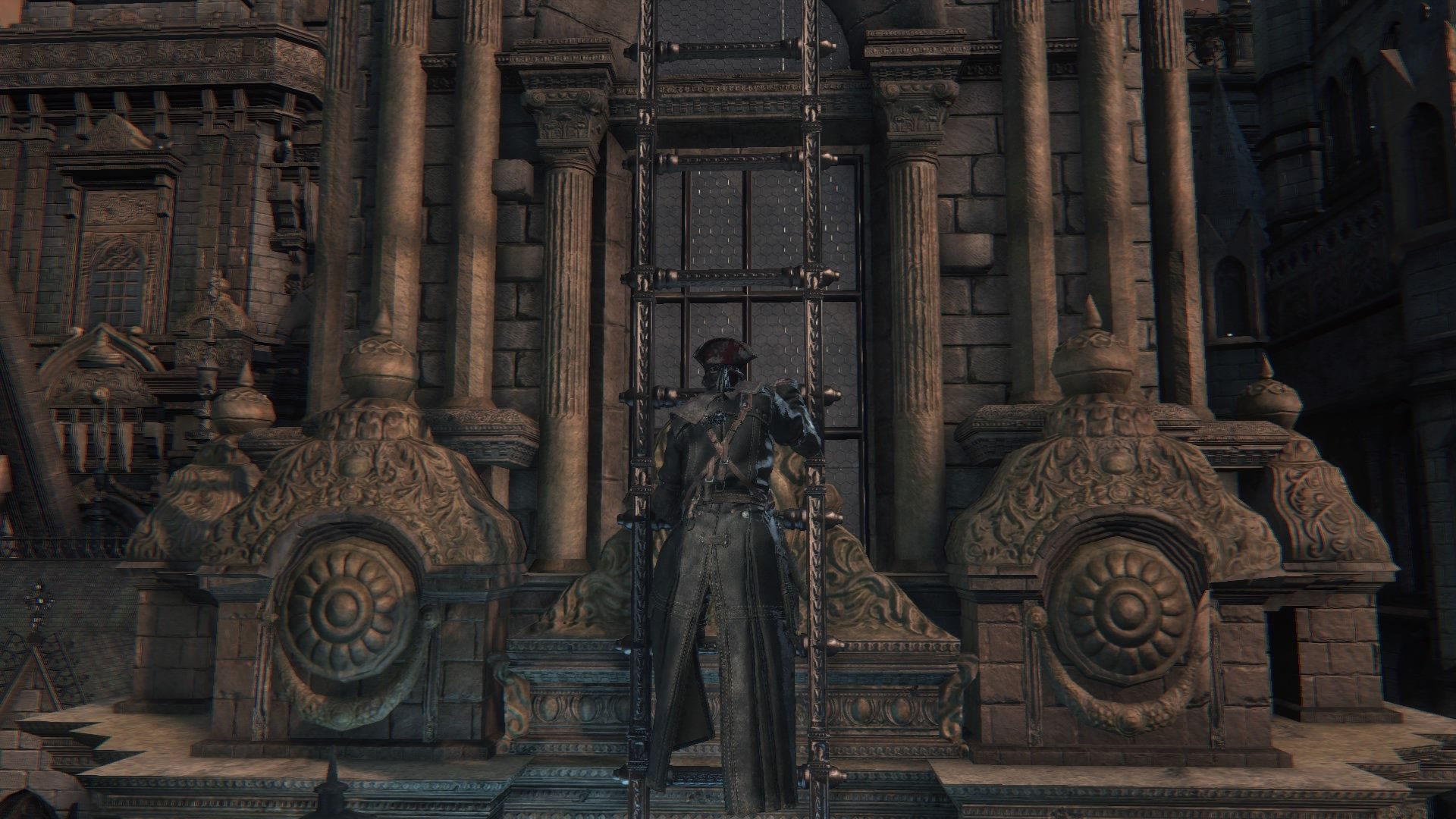 The mysteries of cainhurst garb architecture lore by for Yharnam architecture