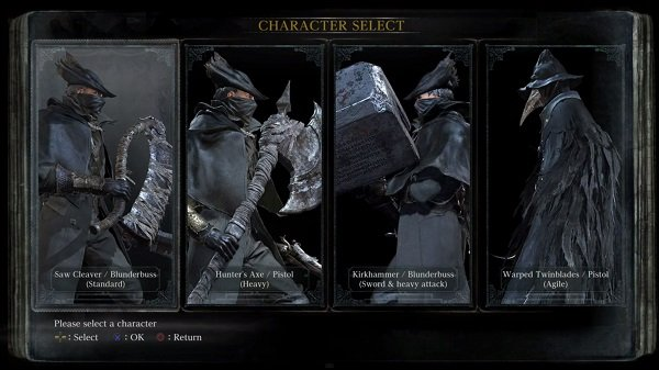 bloodborne-character-classes-origins