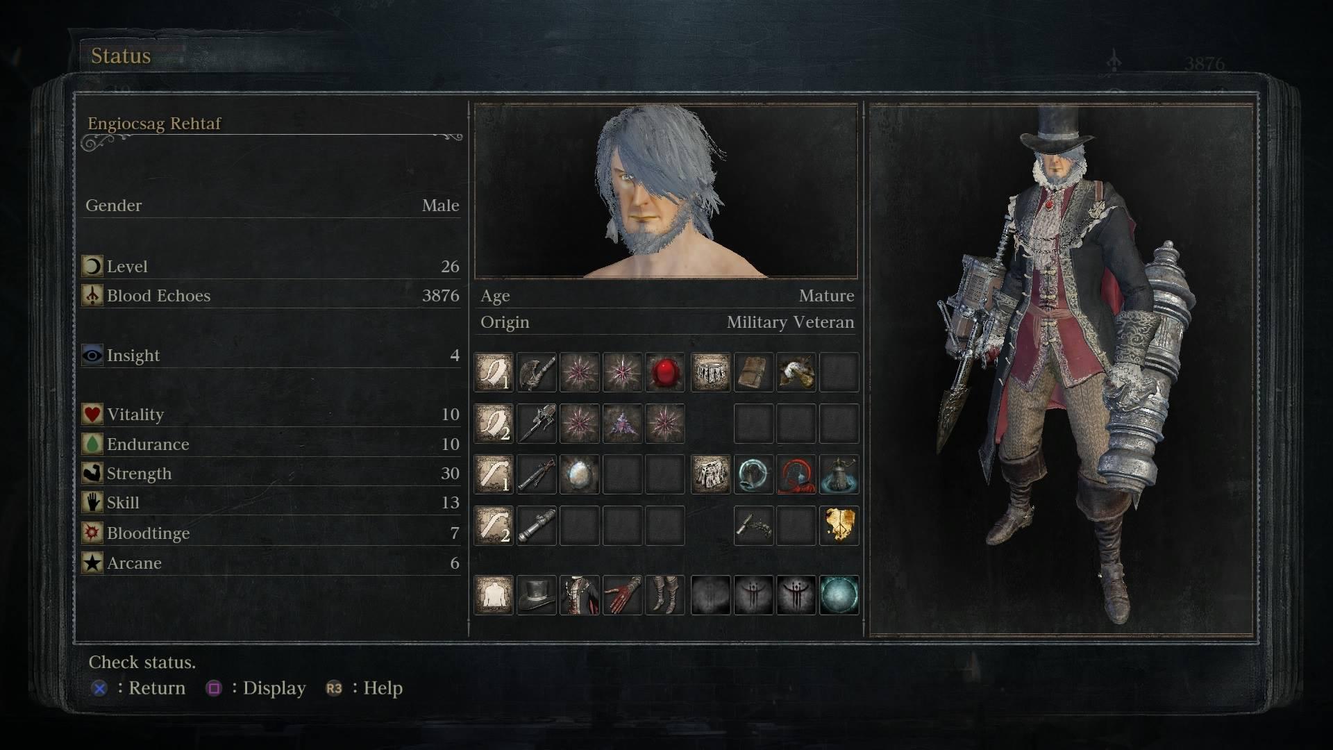 Best Pve Build Bloodborne
