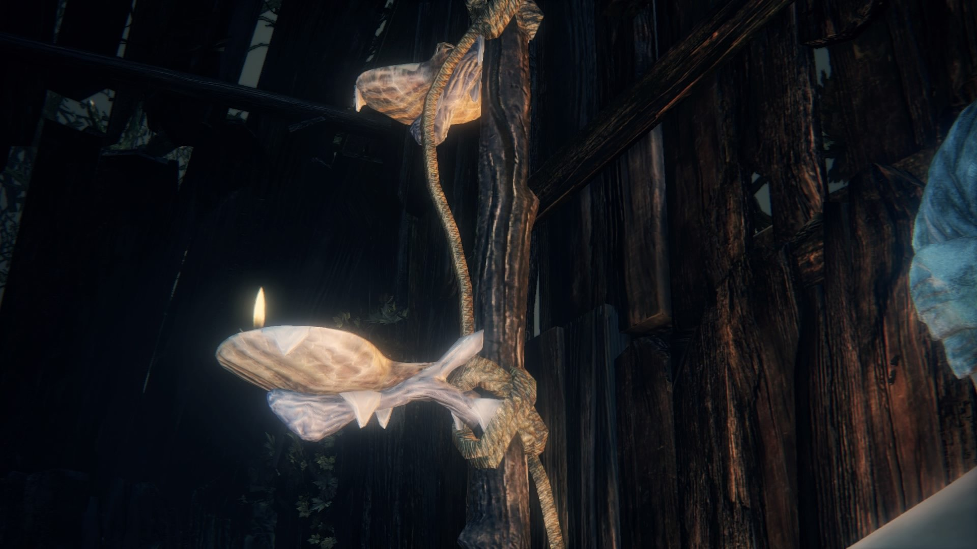 kos mother bloodborne wiki oil lights and explosive barrels