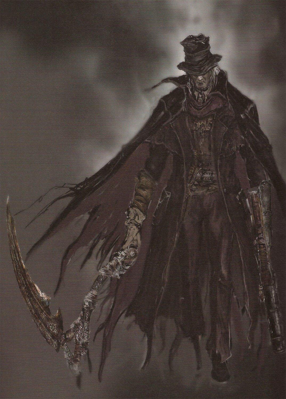 Gehrman The First HunterBloodbornevs Geralt Of RiviaThe Witcher