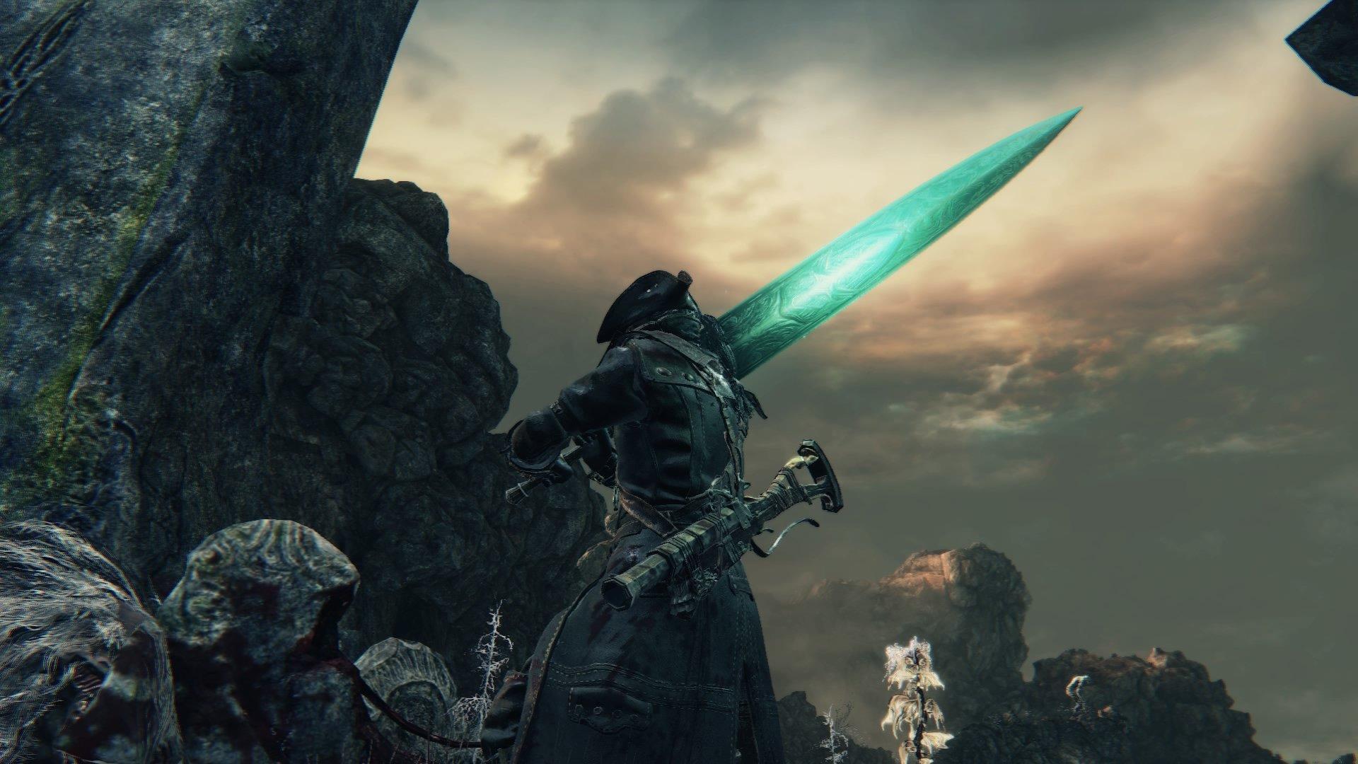 Holy Moonlight Sword   Bloodborne Wiki