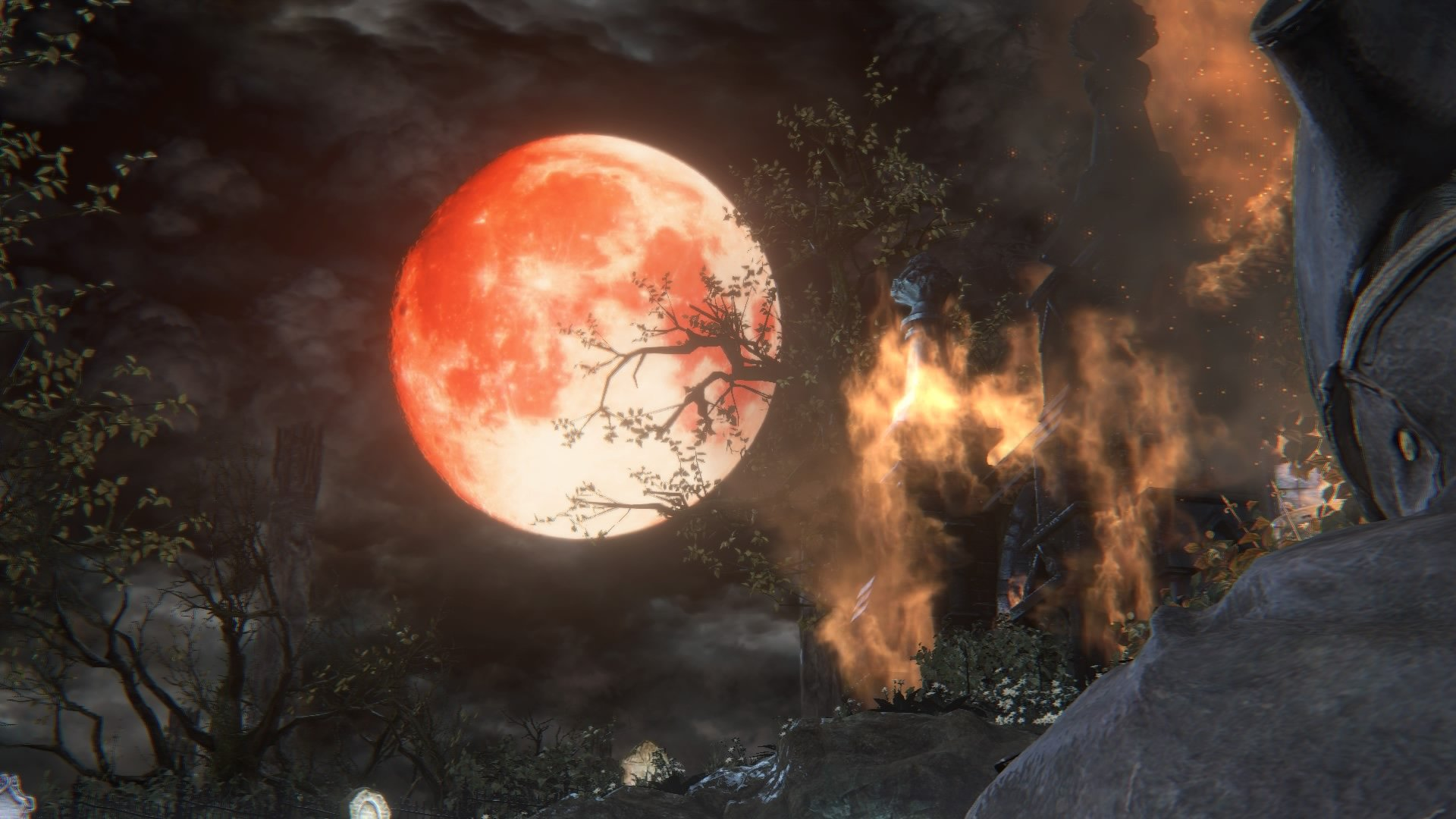 Blood Moon of The Hunter's Dream