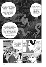 The Thing That Drifted Ashore by Junji Ito - page 13