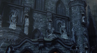 Blood starved beast old yharnam lore by rakuyo for Yharnam architecture