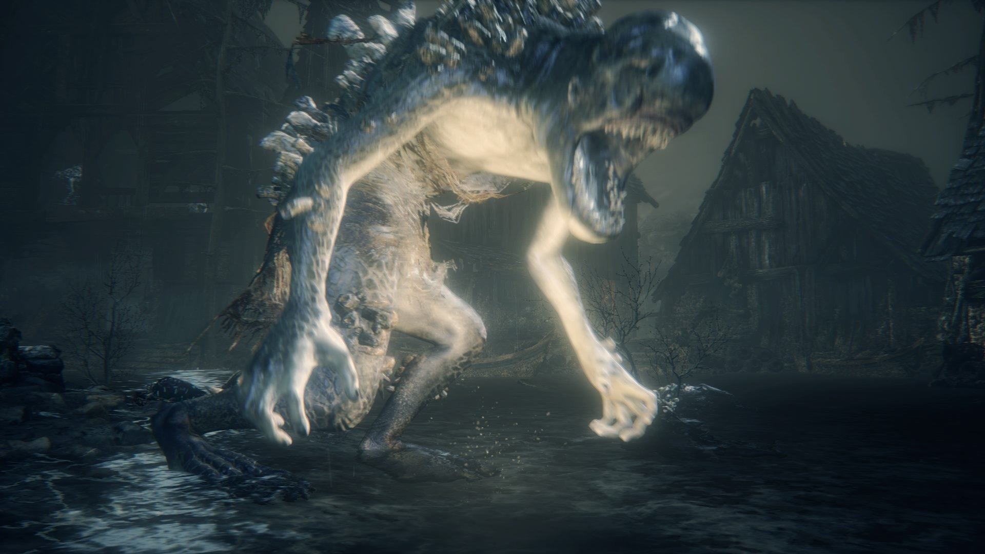 Shark Giant Bloodborne Wiki