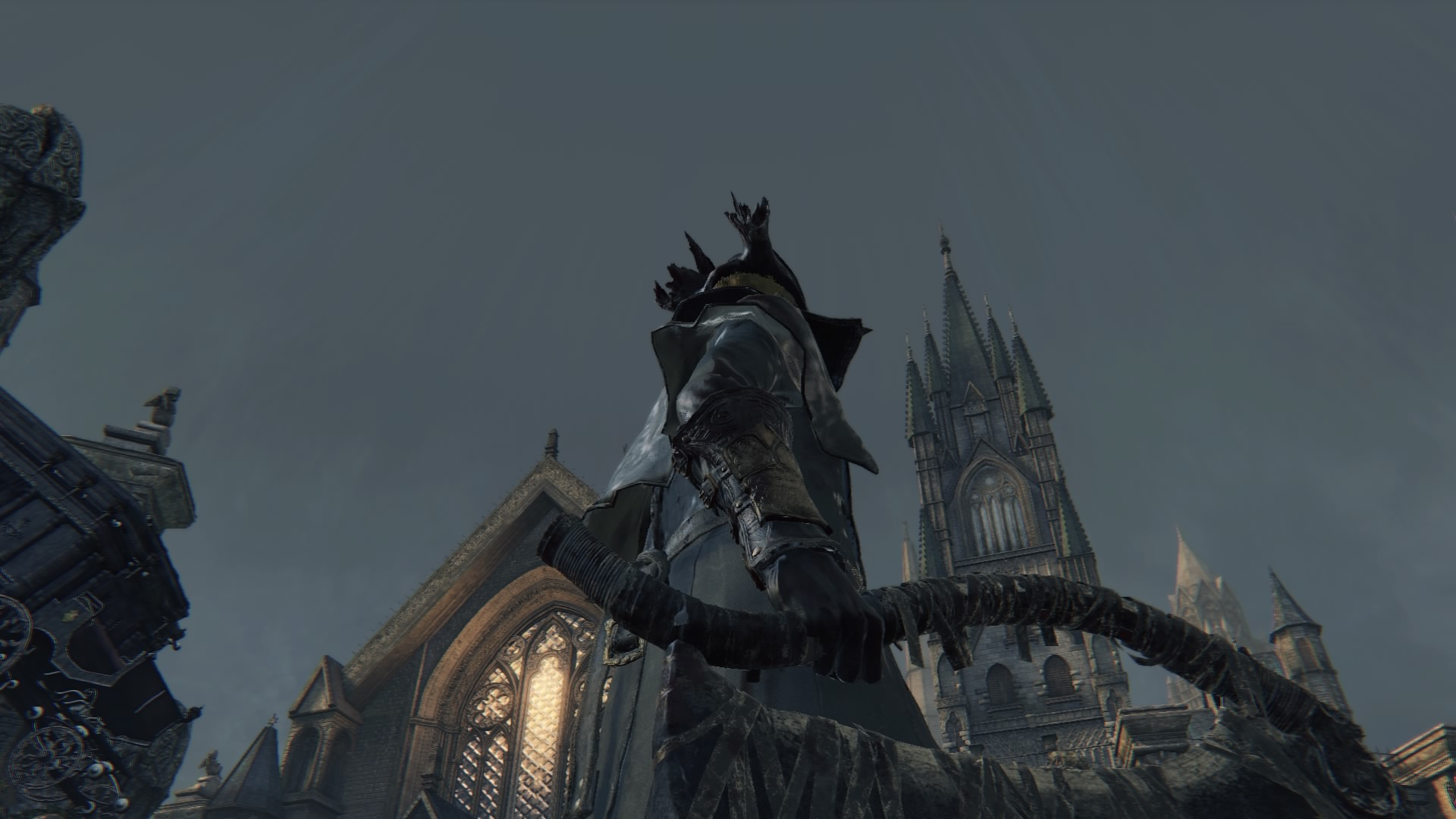 Grey Sky of Nightmare Yharnam B