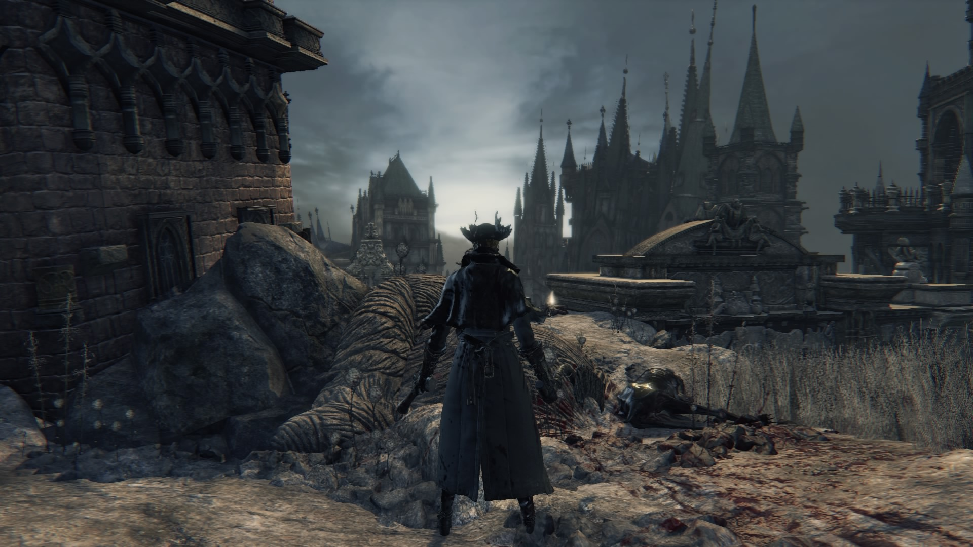 Yharnam's Patch of White
