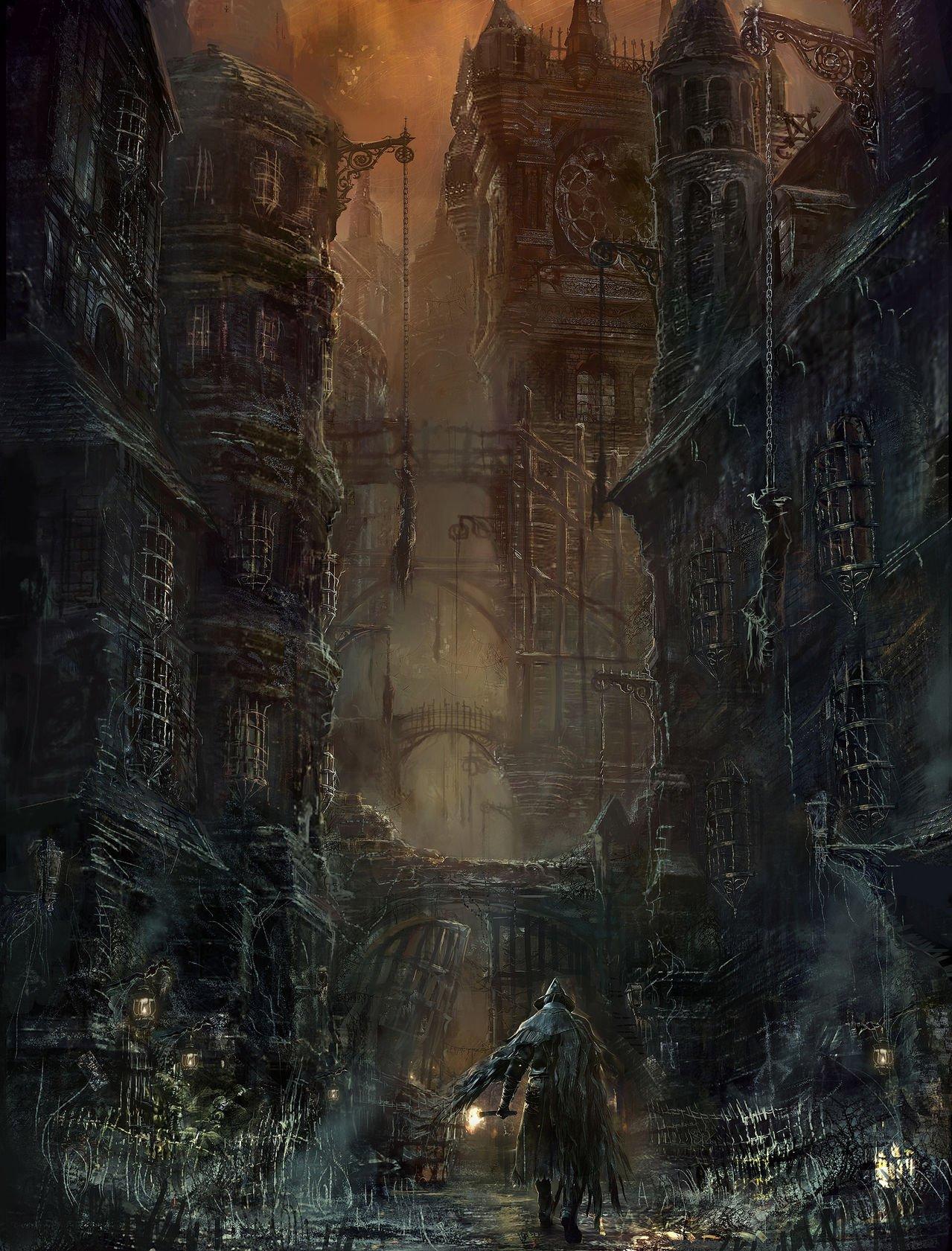 Concept Art   Bloodborne Wiki