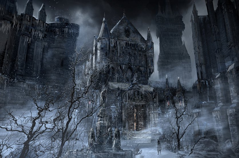 Concept art bloodborne wiki for Yharnam architecture