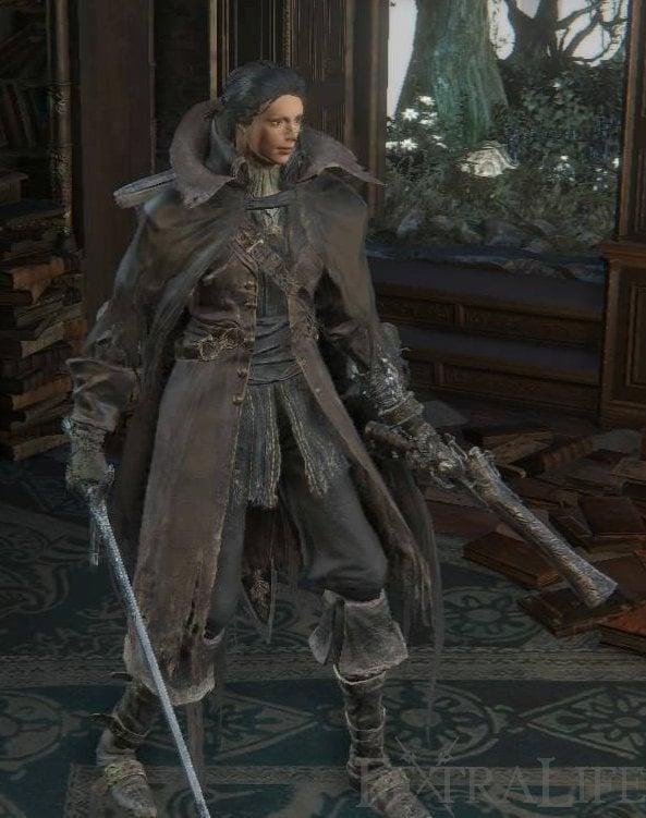 Charred Hunter Set   Bloodborne Wiki