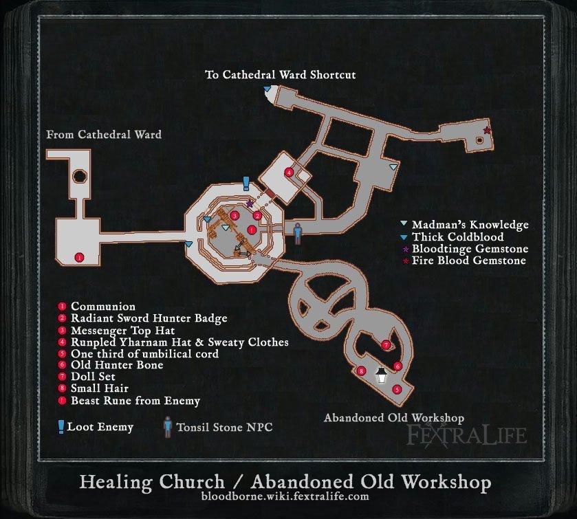 Healing Church Workshop Bloodborne Wiki