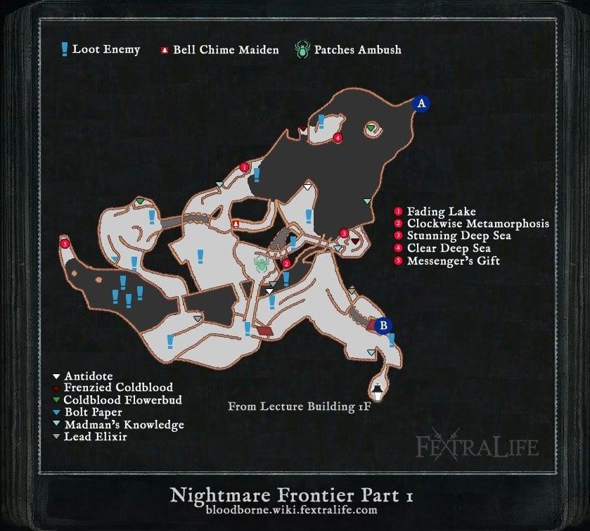 Maps Bloodborne Wiki