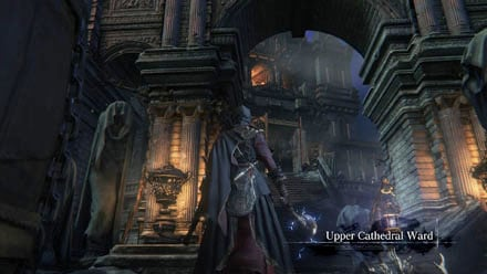 bloodborne cathedral ward door